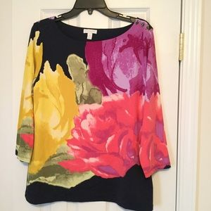 Charter Club XL Work Casual Top 3/4 sleeves beauty